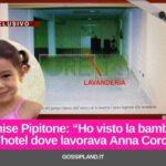 """Denise Pipitone:""""Ho visto la bambina dove lavorava Anna Corona"""""""