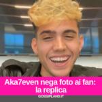 Aka7even nega foto ai fan: la replica