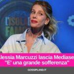 """Alessia Marcuzzi lascia Mediaset:""""E' una grande sofferenza"""""""