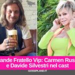 Carmen Russo e Davide Silvestri nel cast del GfVip