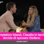 Temptation Island, Claudia e Stefano si sposano