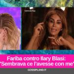 """Fariba contro Ilary Blasi: """"Sembrava ce l'avesse con me"""""""