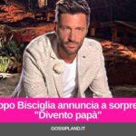 """Filippo Bisciglia annuncia a sorpresa: """"Divento papà"""""""