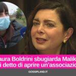 """Laura Boldrini sbugiarda Malika: """"Mai detto di aprire un'associazione"""""""