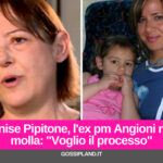 """Denise Pipitone, l'ex pm Angioni: """"Voglio il processo"""""""