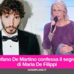 Stefano De Martino confessa il segreto di Maria De Filippi