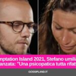 Temptation Island 2021, Stefano umilia Manuela