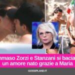Tommaso Zorzi e Stanzani si baciano, ecco la prima foto