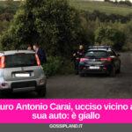 Mauro Antonio Carai, ucciso vicino alla sua auto: è giallo