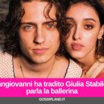 Sangiovanni ha tradito Giulia Stabile? parla la ballerina