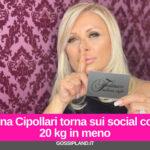 Tina Cipollari torna sui social con 20 kg in meno