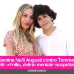 Valentina Nulli Augusti contro Tommaso Eletti: «Follia, delirio mentale inaspettato»