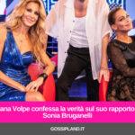 Adriana Volpe confessa la verità sul suo rapporto con Sonia Bruganelli