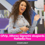GfVip, Alfonso Signorini sbugiarda Raffaella Fico