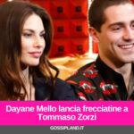 Dayane Mello lancia frecciatine a Tommaso Zorzi