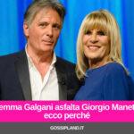 Gemma Galgani asfalta Giorgio Manetti: ecco perché