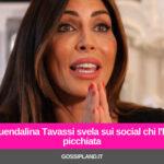 Guendalina Tavassi svela sui social chi l'ha picchiata