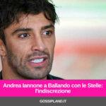 Andrea Iannone a Ballando con le Stelle: l'indiscrezione
