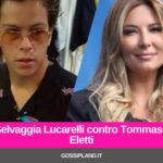 Selvaggia Lucarelli contro Tommaso Eletti al GfVip