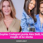 Sophie Codegoni punta Alex Belli, la moglie di lui sbotta