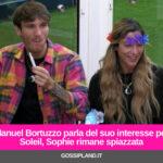 Manuel Bortuzzo parla del suo interesse per Soleil, Sophie rimane spiazzata