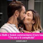 """Alex Belli e Soleil commentano il loro bacio: """"Tra noi c'è complicità"""""""