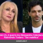 Amici 21, è guerra tra Alessandra Celentano e Raimondo Todaro: ''Sei malefica''