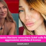 Deianira Marziano smaschera Soleil sulla finta aggressione omofoba di Iconize