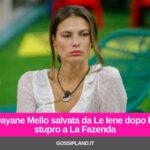 Dayane Mello salvata da Le Iene dopo lo stupro a La Fazenda