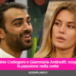 Sophie Codegoni e Gianmaria Antinolfi: scoppia la passione